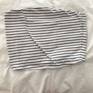Stripped GARAGE Tube Top - Small